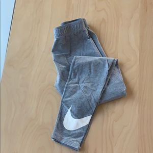 Girls Nike XL Grey Pants